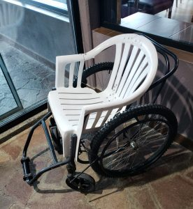 The world's sturdiest wheelchair