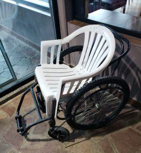 The world's sturdiest wheelchair