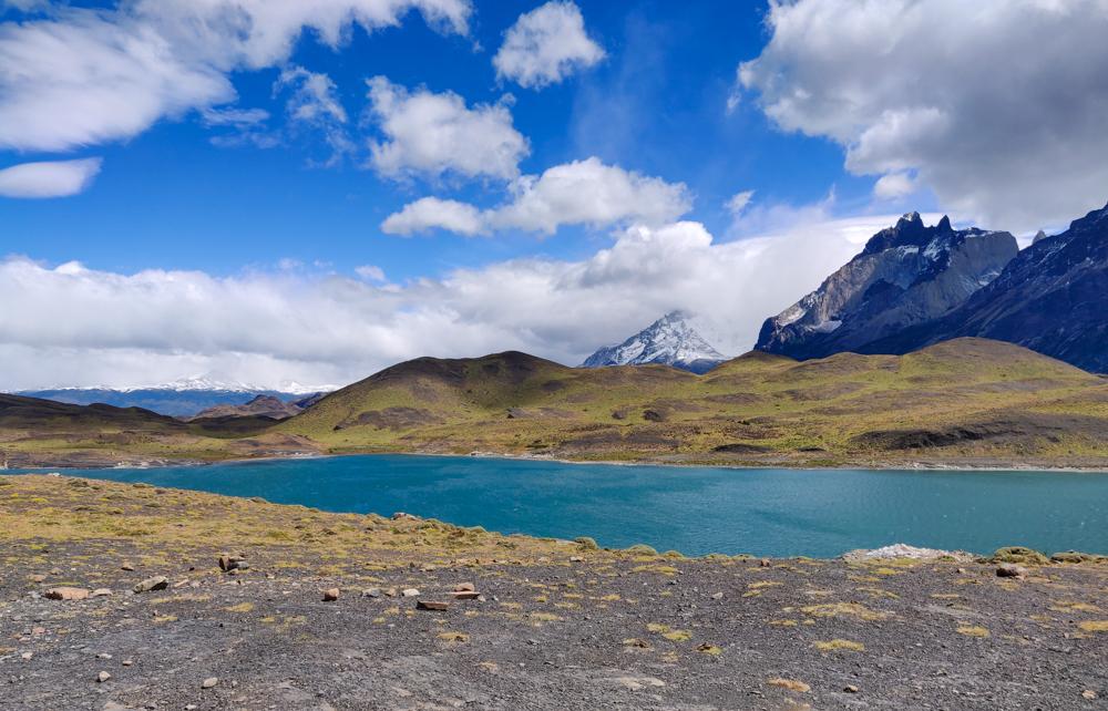 Incredible blue lake