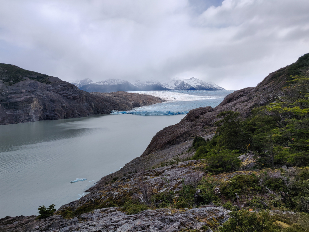 Grey Glacier from slightly closer