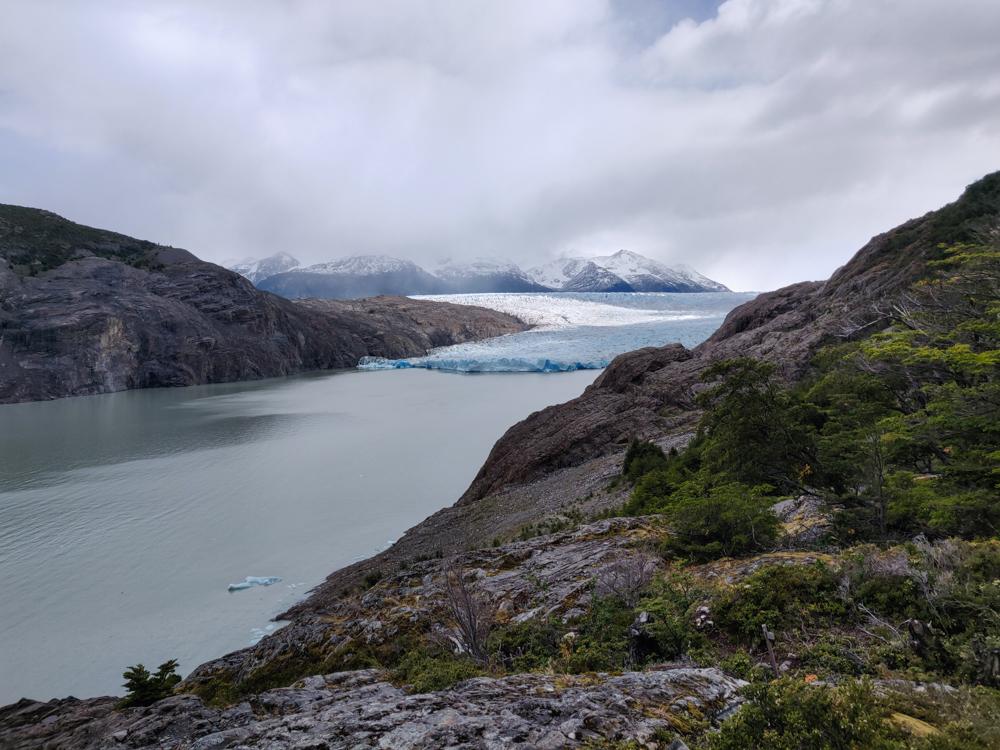 Grey Glacier from slightly closer