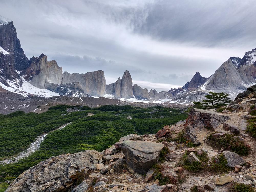 Britanico lookout peaks