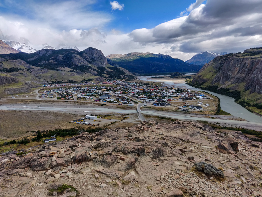 El Chaltén from the first viewpoint